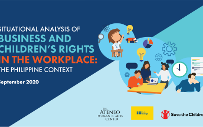 Business and Children's Rights in the Workplace: The Philippine Context