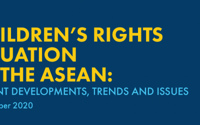 Children's Rights Situation in the ASEAN: Recent Developments, Trends, and Issues (September 2020)