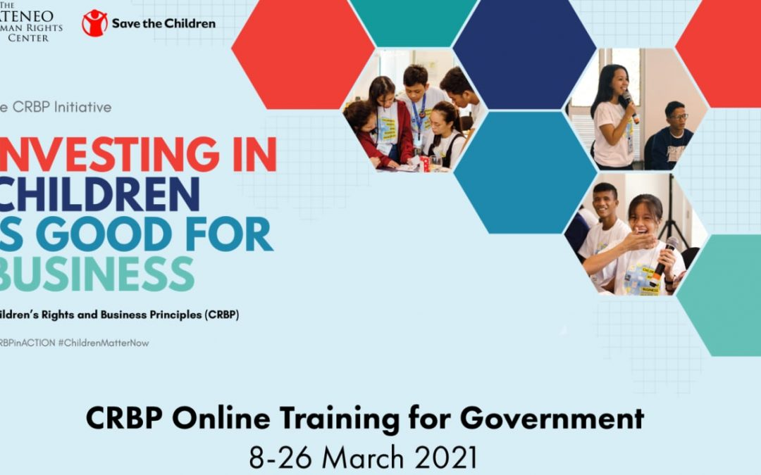 AKAP launches CRBP Online Training for Government