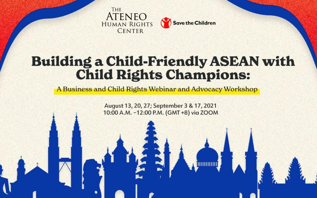 AHRC, AKAP to host CRBP Workshop for ASEAN