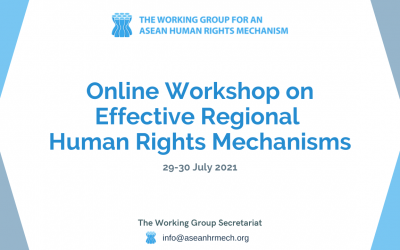 WG-AHRM holds Regional Workshop on Effective Regional Human Rights Mechanisms